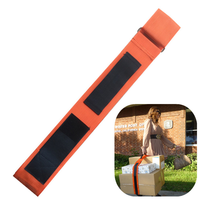 Manufacturers Direct Selling Hand Luggage Strap 8cm Wide Line Portable Belt Debris Organizing Hand Ratchet Tie Down Carrying Bel