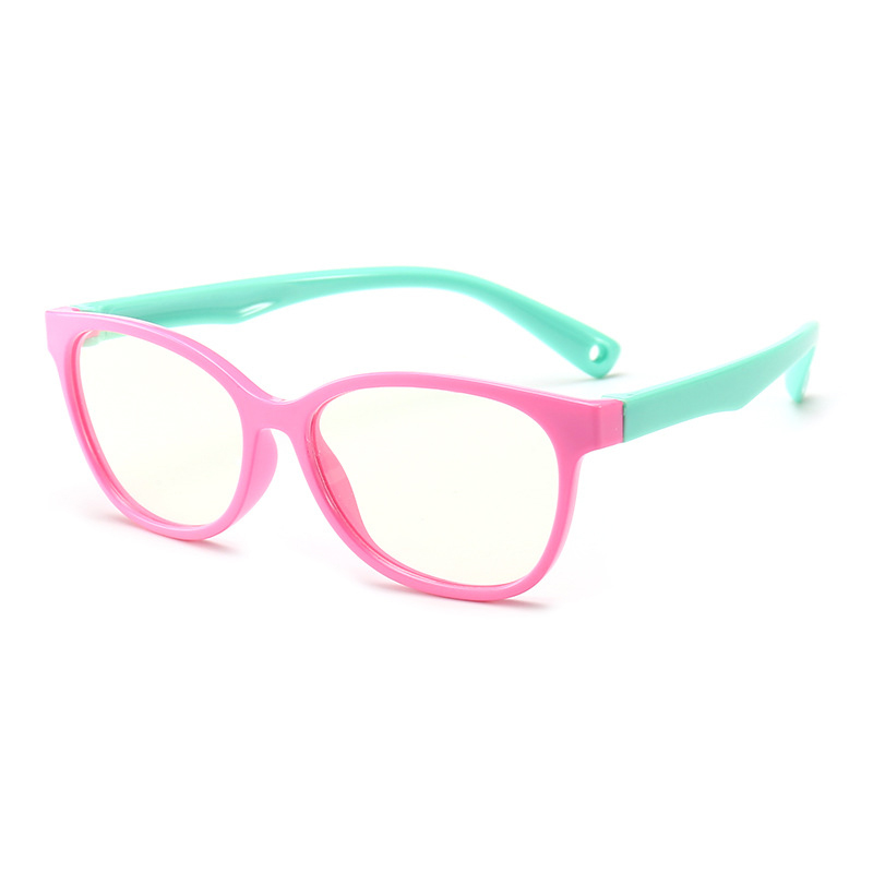 Kids Computer Glasses Video Gaming Glasses Anti Harmful Blue Light  UV400 Anti Glare  Protection Eyewear For Children