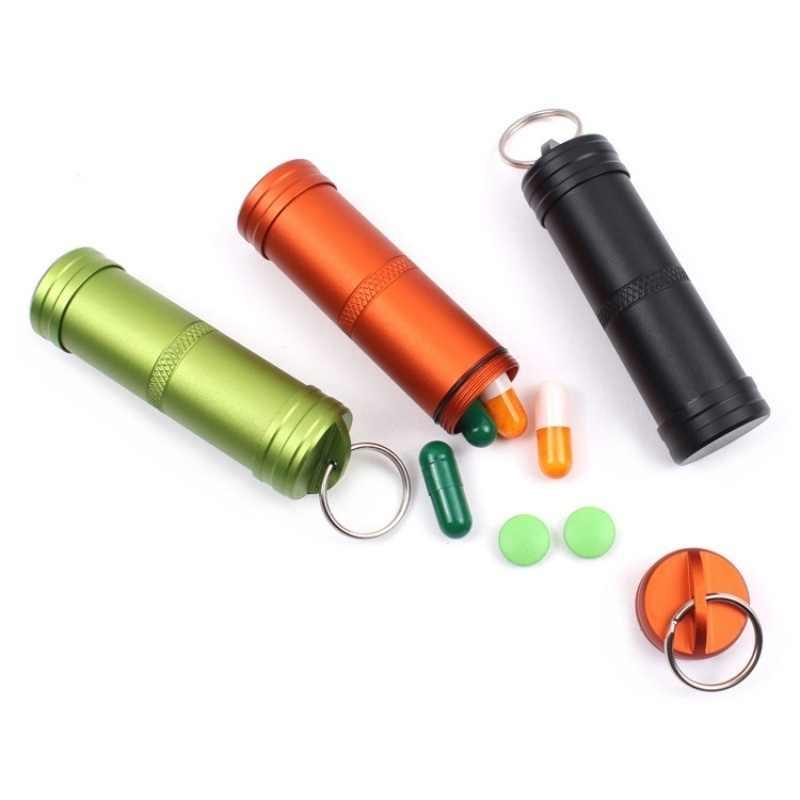 Кемпинг выживания водонепроницаемый таблетки коробка контейнер Открытый аварийный EDC дорожные наборы туристическое снаряжение