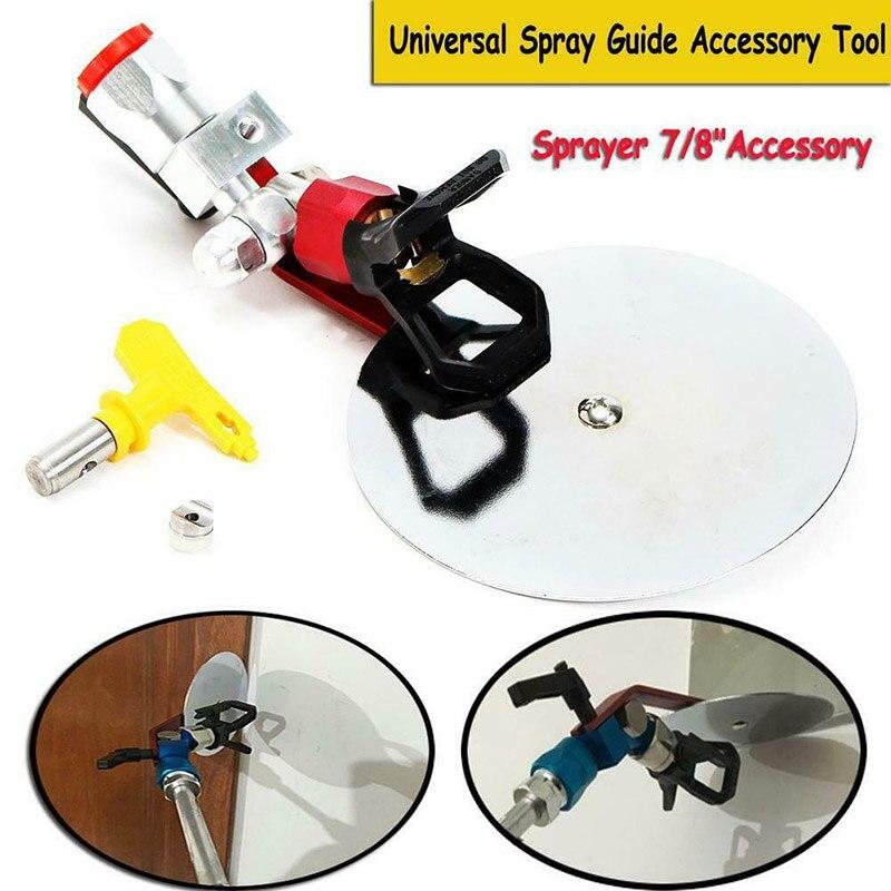 Для Sprayly Pro paint Baffle регулируемый спрей-направляющий инструмент для безвоздушного распыления L9 #2