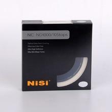 NISI filtro de lente de densidad neutra de 10 pares, 46/52/55/58/62/67/72/77/82mm ND1000 ND 3,0, 46mm 52mm 55mm 58mm 67mm 72mm 77mm 82mm 95mm