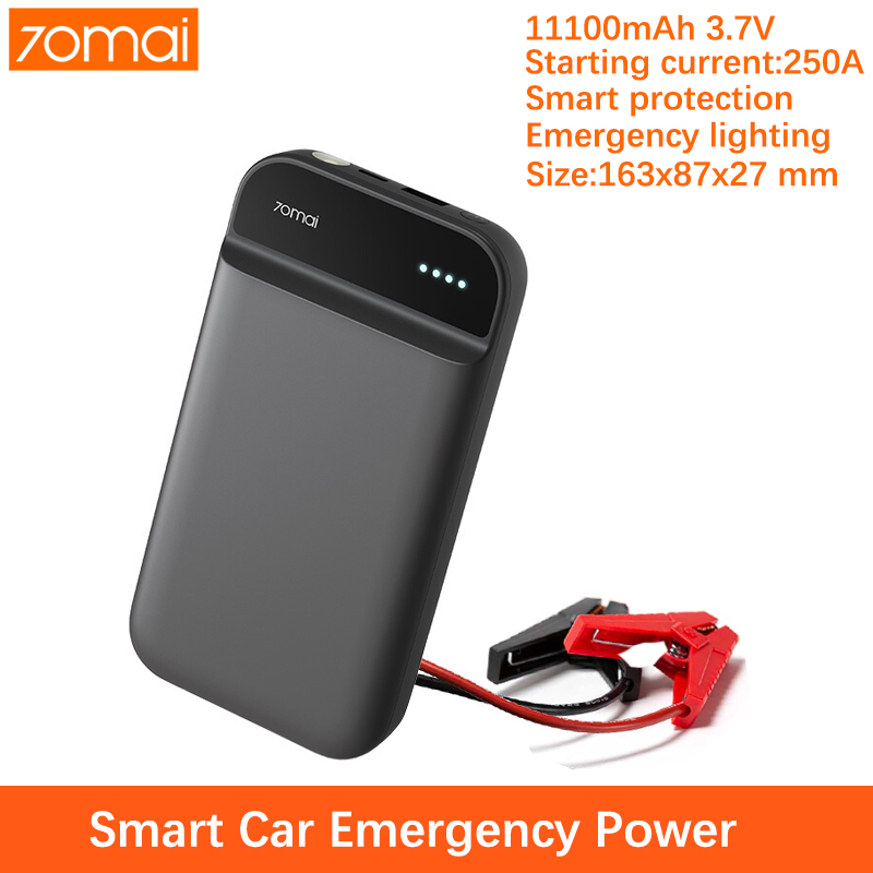 70mai car jump starter gkfly power bank 12V 11100mAh portable emergency battery 70 mai high power jumpstarter start battery