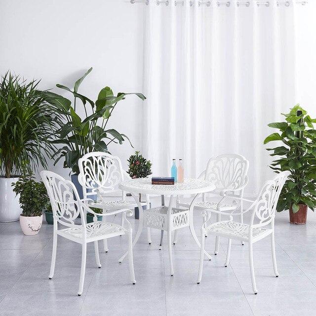 Nordic Patio Dining Set  2