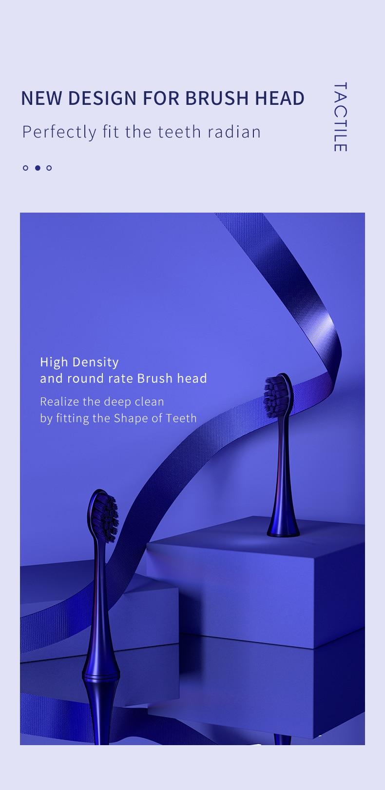 электрическая зубная щетка seago sonic s2x