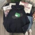 Толстовка в стиле оверсайз для мужчин и женщин, теплый пуловер с капюшоном в стиле Харадзюку, Свитшот в Корейском стиле для скейтборда, весн...