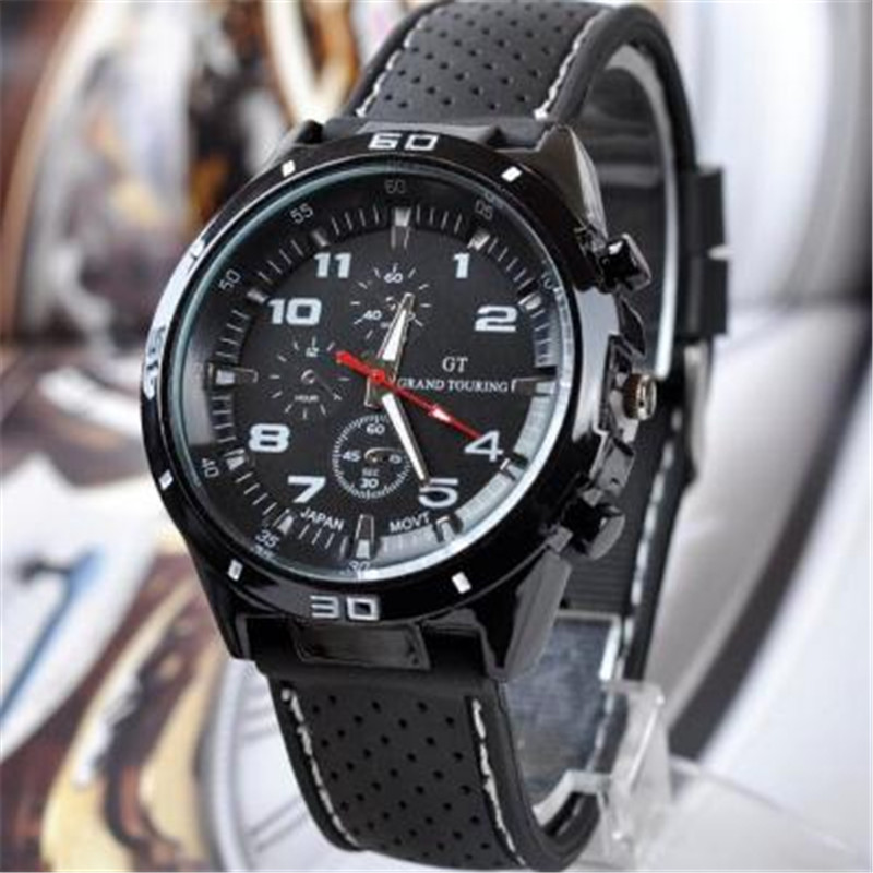 Permalink to Man Watches 2019 Brand Luxury army soldier military rubber wristband analog Quartz watches sport clock saat erkek kol saati