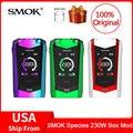 Original SMOK especies Mod 230W pantalla táctil Mod VW/TC Box Mod 18650 batería para cigarrillo electrónico vape las especies de