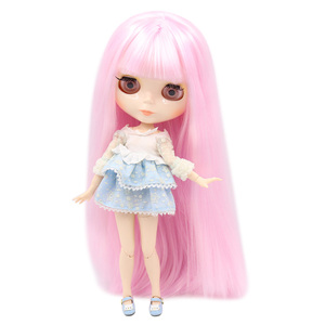 Image 4 - ICY Blyth Doll Nude Joint Body 30CM BJD toys white shiny face with extra hands AB and  faceplate 1/6 DIY Fashion Dolls girl gift