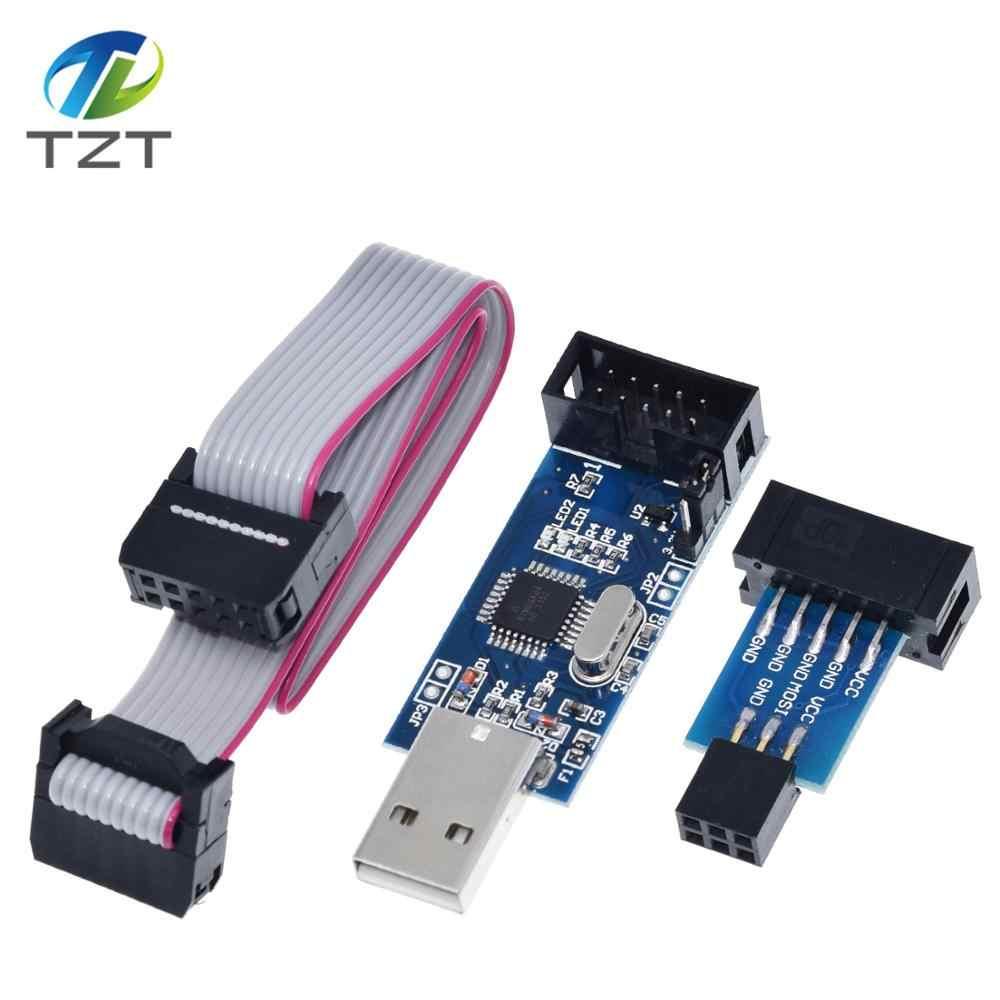 Программатор USB ISP USB ASP ATMEGA8 ATMEGA128 с поддержкой Win7 64, 1 комплект
