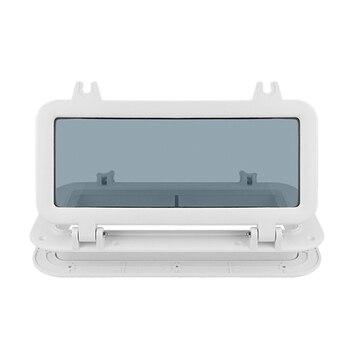 Boat Porthole Marine Rectangular Porthole/Window Porthole for Yacht 4mm Tempered Glass Anti-Corrosive Boat Accessories Marine