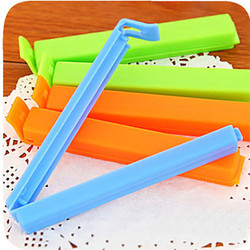 10PCS Portable New Kitchen Storage Clips Food Snack Seal Sealing Bag Clips Sealer Clamp Plastic Tool Kitchen Accessories
