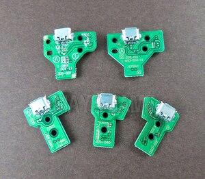 Image 3 - 10 pces jds030 jds001 jds011 jds040 jds055 para playstation 4 controlador usb placa de carregamento porto substituição para ps4 controlador