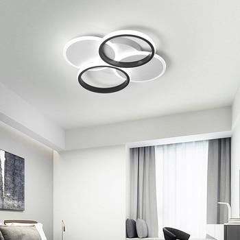 Chandelierrec Modern AC90-260V LED ceiling lights for living room bedroom home ceiling lighting with remote dimming ceiling lamp