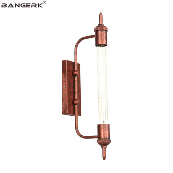 American Industrial Retro Wall Light LED Edison T30 Flute Sconce Wall Lights Iron Loft Bedside Wall Lamp Home Decor Lighting