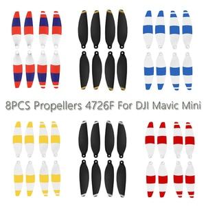 Image 1 - 8 Pcs/4 Pcs Mavic Mini Propellers 4726F Voor Dji Mavic Mini Drone Vervanging Propellers Opvouwbare Quick Release Accessoires