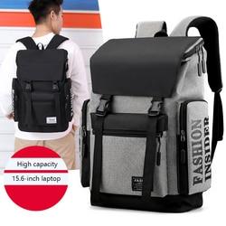 MJZKXQZ sacs pour ordinateur portable pour hommes étanche Anti-vol Sac à Dos en Nylon Sac de voyage école Bolsa garçons adolescents filles noir Sac A Dos