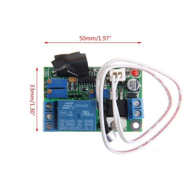 Фото управление светом звуком модуль реле датчик задержки регулируемый