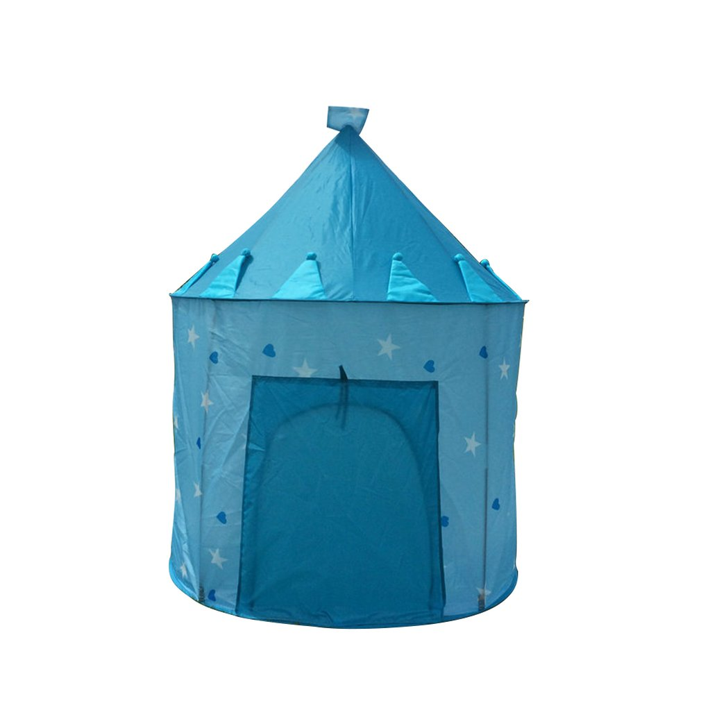 Children'S Castle Yurt Game Tent Foldable Children'S Indoor Game House Princess Tent Children Luminous Tent
