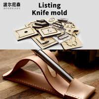 Wood die cutting DIY 2020 leather pen pad die cutting burr scrapbook suitable for die cutting machine