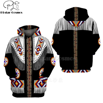 Native Indian 3D Hoodies/sweatshirts Tee Men Women New Fashion Hooded winter Autumn Long Sleeve streetwear Pullover Style-18