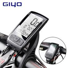 Bicycle Computer GIYO Stopwatch Bike Heart-Rate-Monitor Temperature-Bluetooth4.0 Wireless