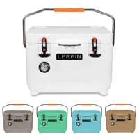 Aliexpress top seller lerpin 25QT ice cooler box camping portable ice chest  cooler box