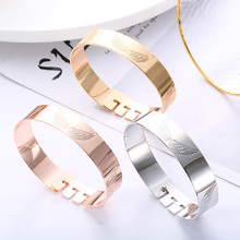 New Angle Wings Bangle Bracelet For Women Gold Silver Color Bangle Gift For Friend Fashion Jewelry Bijoux femme 2019 Wholesale bracelet wholesale 2019 new fashion jewelry leather bracelet for women bangle europe beads charms gold bracelet christmas gift