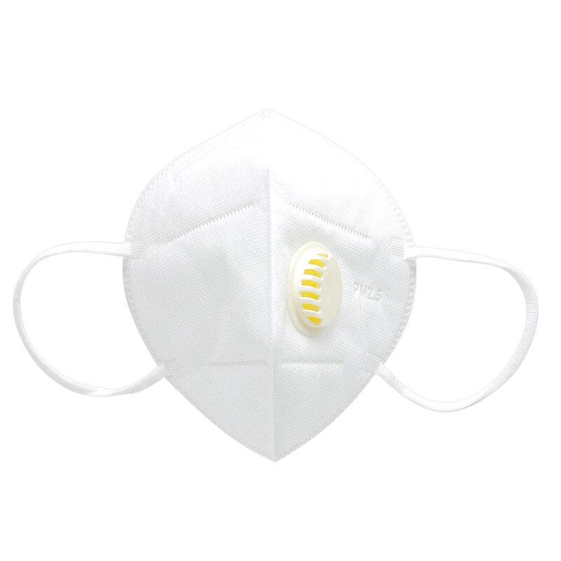 Пылезащитная маска PM2.5 анти-туман против пыли гриппа лица рот Теплые Маски Здоровый воздушный фильтр пылезащитный Антибактериальный защитный - Цвет: Белый
