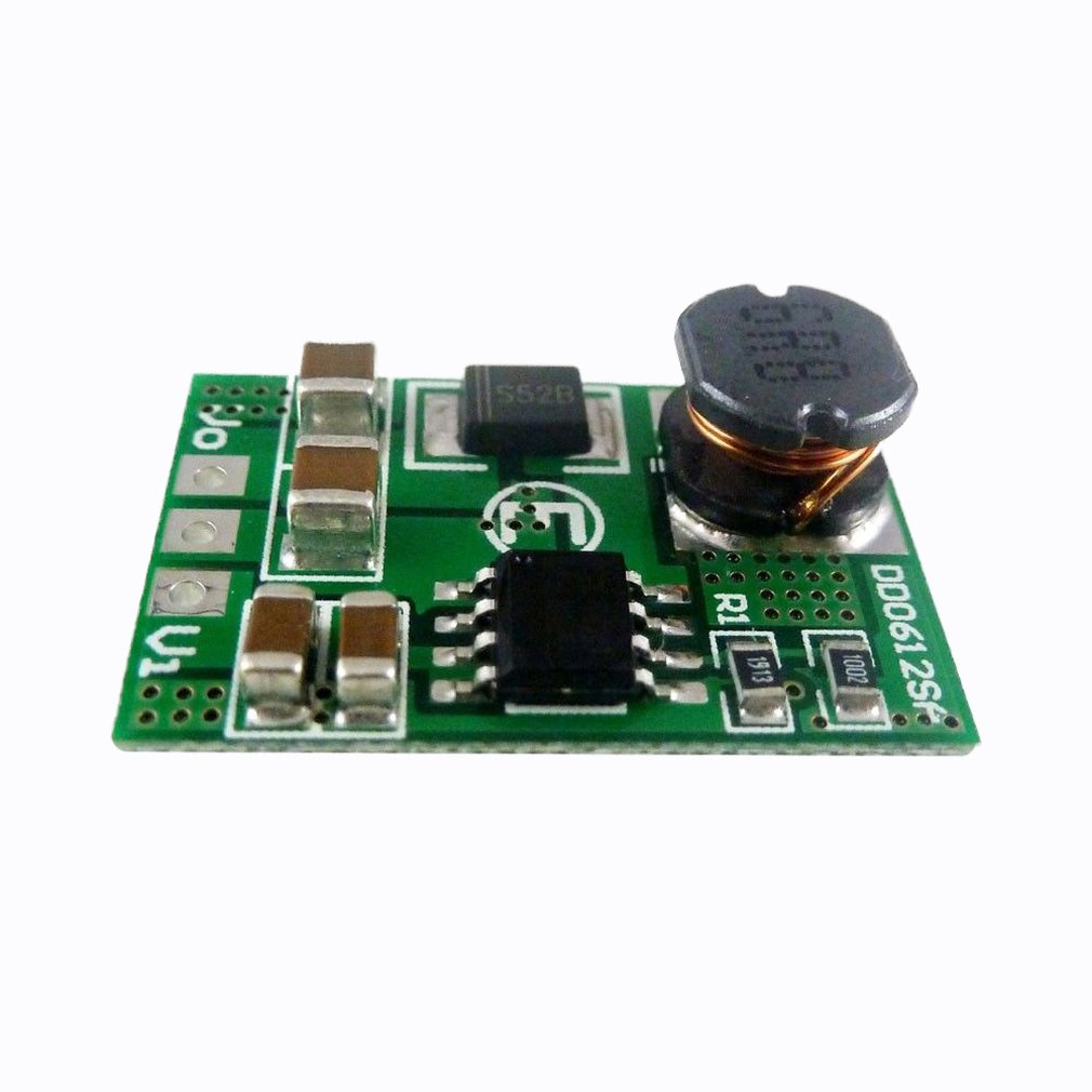 <font><b>3.5A</b></font> DC-DC Step-up Voltage Boost Converter Module 3V 3.3V 3.7V to 5V 6V 9V <font><b>12V</b></font> <font><b>Power</b></font> <font><b>Supply</b></font> Voltage Regulator image
