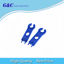 1 Pair(2pcs) MC4 Solar Connector Disconnect Tool Spanners Solar Wrench Blue solar tools diy electronics 20 pair of mc4 y branch 3m1f 3f1m solar pv connector parallel for 3 solar panels