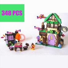 Bela 10502 Fairy Friends Elves The Starlight Inn Kits 41174 Building Blocks Bricks Girl Toys Children compatiable with lego gift цена и фото