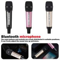 Mini car microphone FM wireless Bluetooth mobile phone universal karaoke microphone Home Studio Handheld