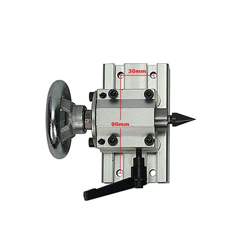 CNC drehachse reitstock center höhe 55mm mit 3 stücke schwanz zentrum für rotary 4th EINE Achsen Engraver Fräsen maschine