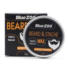 Новинка органический натуральный воск для ухода за бородой бальзам для мужчин уход за бородой Стайлинг увлажняющий эффект кондиционер для бороды TSLM2