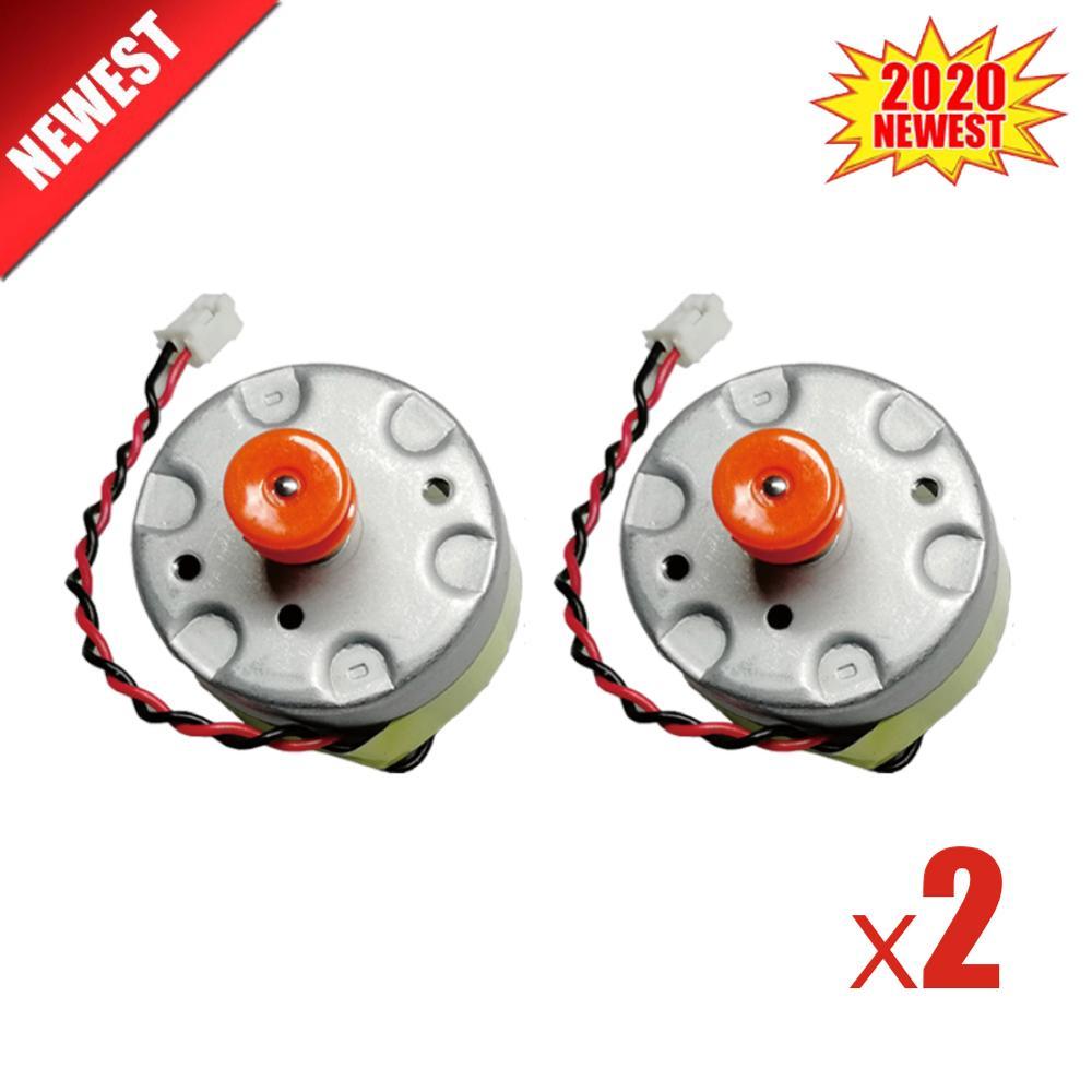 Gear Transmission Motor 2PCS For Xiaomi Mijia 1st 2nd & Roborock S50 S51 S55 Robot Vacuum Cleaner Laser Sensor LDS Cleaner Motor