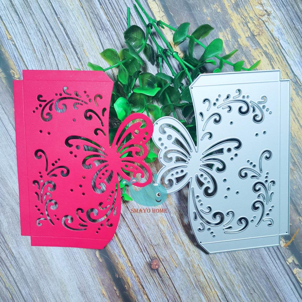 Background Cutting Dies Stencil Scrapbooking Album Paper Card DIY Embossing
