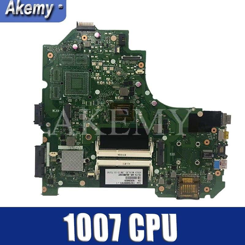 K56CA Материнские платы 1007 CPU для ASUS S550C K56CM K56CB S56C K56C материнской платы ноутбука K56CA MAINBOARD K56CA материнских плат