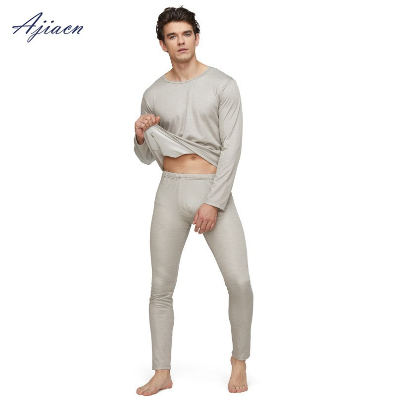 Electromagnetic Protective Clothing Electric Welding EMF Silver Fiber Men's Radiation Protectionlong-sleeved Underwear