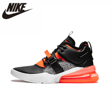 цена на Nike Air Force 270 QS PRPL Original Men Running Shoes Comfortable Outdoor Sports Sneakers #AH6772 AJ8208