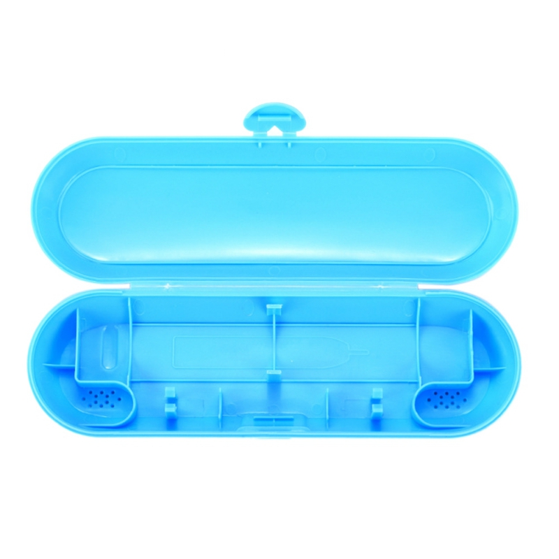 Electric Toothbrush Portable Travel Storage Box With Drain Hole(Excluding Toothbrush) for travel Home  Household