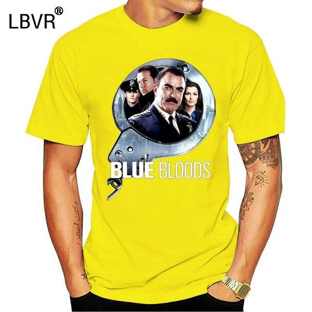Blue Bloods Tom Selleck Donnie Walberg Cop Tv Fan Tops Tee T