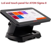 8 inch LCD with Touch screen panel For ATON Sigma 8 matrix display Digitizer Sensor TABLEt