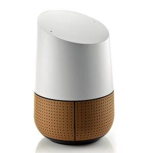 Image 4 - Gosear ファッション Pu レザーの交換スピーカーアシスタントィスプレイベーススタンドホルダー google のホームアクセサリー