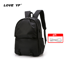 LOVE YF New Style Men's Backpack Casual Fashion Backpack USB charging Waterproof School Bag Outdoor Bag shoulder bag travel bag