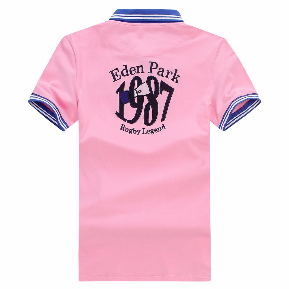 Factory Selling 2019 Homme POLO Best Brand 100% COTTON Eden Park For Men POLOS Top Quality Embroidery Shirts Big Size M To XXXL