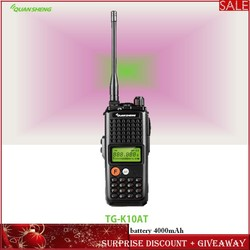 Quansheng Walkie-Talkie Radio Communicador Intercom Communicatie Apparatuur Draagbare Trucker Walkie-Talkie Voor Hunting10KM K10AT