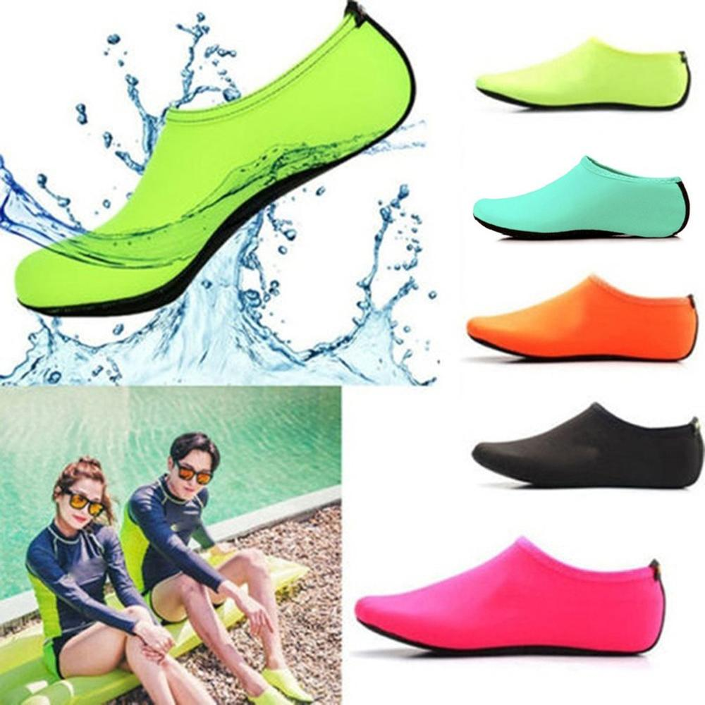 Water Socks  Swimming Shoes Snorkeling Non-slip Seaside Beach Breathable Diving Socks Fit For Swimwear Women Man Surfing