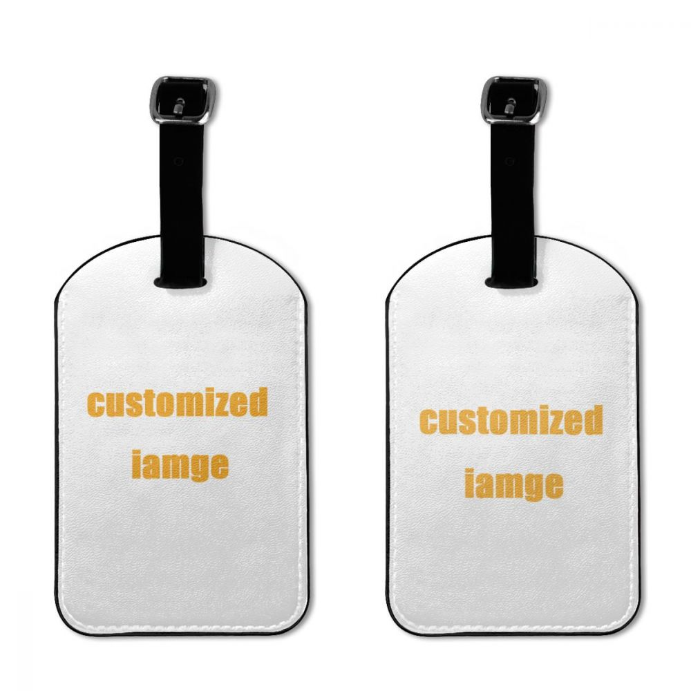 NOISYDESIGNS Custom Travel Accessories Luggage Tag Suitcase ID Addres Holder Baggage Boarding Tag Portable Label 2PCs