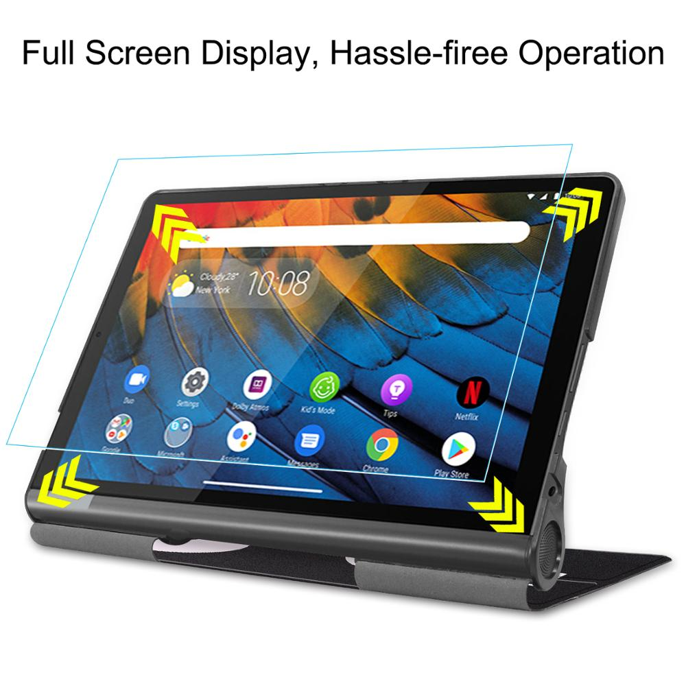 Tempered Glass Screen Protector For Lenovo Yoga Smart Tab 5 10.1 YT-X705 Protective Film Yoga Smart Tab 5 YT-X705 image