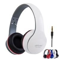 Auriculares plegables con cable para videojuegos, cascos estéreo de graves profundos 3D, reducción de ruido, auriculares para el jugador con micrófono para PC móvil